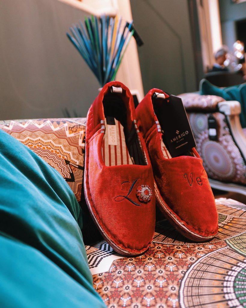 Amerigo Milano Slippers Love San Valentino